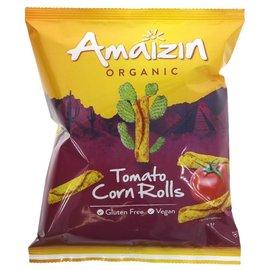 Amaizin Amaizin Organic Tomato Corn Rolls 100g