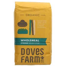 Doves Farm Doves Farm Organic Strong Wholemeal Bread Flour 1kg
