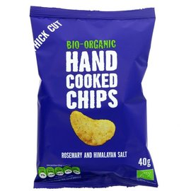 Trafo Trafo Organic Rosemary & Himalayan Salt Hand Cooked Chips 40g