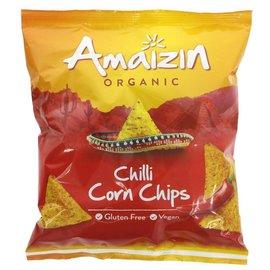 Amaizin Amaizin Organic Chilli Corn Chips 75g