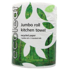 Ecoleaf Ecoleaf Recycled Kitchen Towel 1 Jumbo Roll