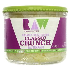 Raw Health Raw Organic Fresh Classic Crunch Sauerkraut 410g