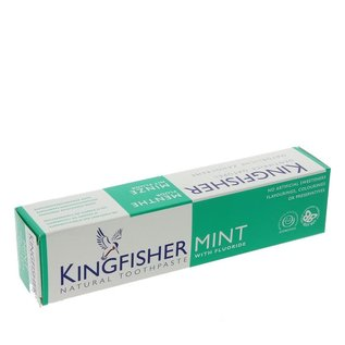 Kingfisher Kingfisher Mint Toothpaste with Fluoride 100ml