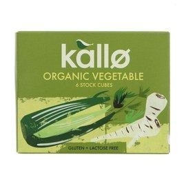 Kallo Kallo Organic Vegetable Stock Cubes 66g