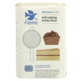 Doves Farm Freee Doves Farm Freee Gluten Free Self Raising White Flour 1kg