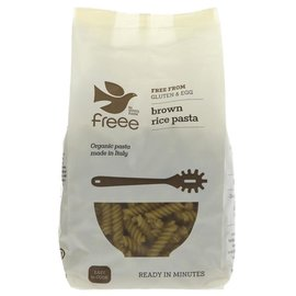 Doves Farm Freee Doves Farm Freee Organic Gluten Free Brown Rice Fusilli 500g