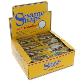 Blue Label Blue Label Sesame Snaps Chocolate 30g