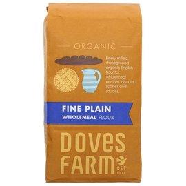 Doves Farm Doves Farm Organic Fine Plain Wholemeal Flour 1kg