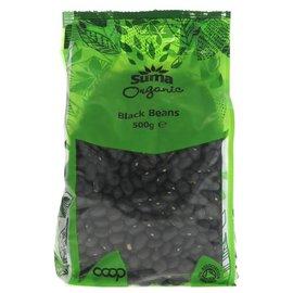 Suma Wholefoods Suma Wholefoods Organic Black Turtle Beans 500g