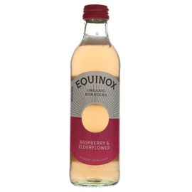 Equinox Equinox Organic Raspberry & Elderflower Kombucha 275ml
