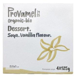 Provamel Provamel Organic Soya Dessert Vanilla 4x125g