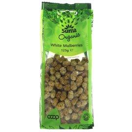 Suma Wholefoods Suma Wholefoods Organic White Mulberries 125g