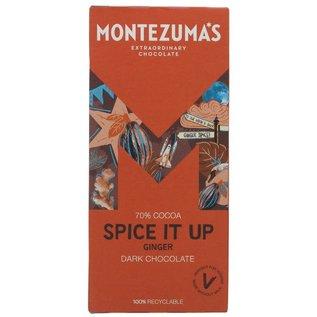 Montezuma's Montezuma's Spice It Up 70% Dark Chocolate with Ginger 90g