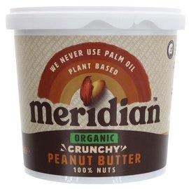 Meridian Meridian Organic Crunchy Peanut Butter 1kg