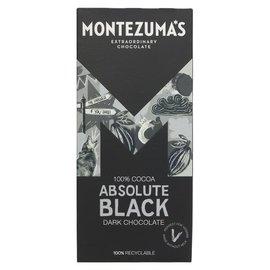 Montezuma's Montezuma's Absolute Black 100% Dark Chocolate 90g
