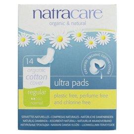 Natracare Natracare Organic Cotton Cover Regular Ultra Pads 14 Pads