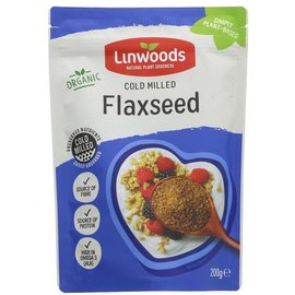 Linwoods Linwoods Organic Milled Flaxseed 200g