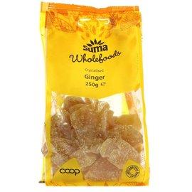 Suma Wholefoods Suma Wholefoods Crystallised Ginger 250g