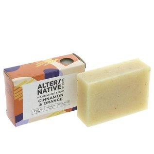 Alter/Native Alter/Native Cinnamon & Orange Soap 95g