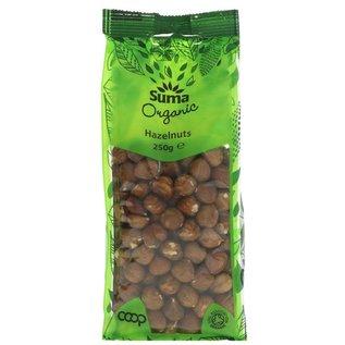Suma Wholefoods Suma Wholefoods Organic Whole Hazelnuts 250g
