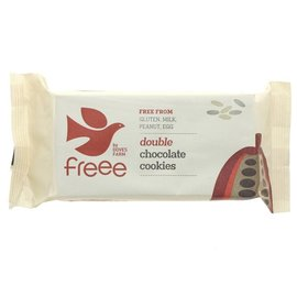 Doves Farm Freee Doves Farm Freee Organic Gluten Free Double Chocolate Cookies 180g