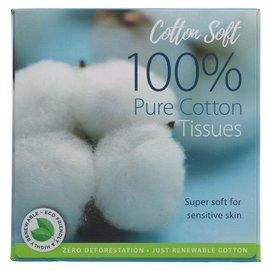 Cotton Soft Cotton Soft Organic Facial Tissue 1 box