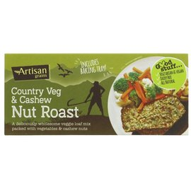 Artisan Grains Artisan Grains Country Veg & Cashew Nut Roast 200g