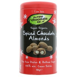 The Raw Chocolate Co The Raw Chocolate Co Organic Spiced Chocolate Almonds 180g