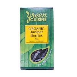 Green Cuisine Green Cuisine Organic Juniper Berries 30g