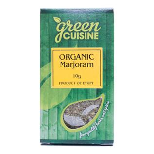 Green Cuisine Green Cuisine Organic Marjoram 10g