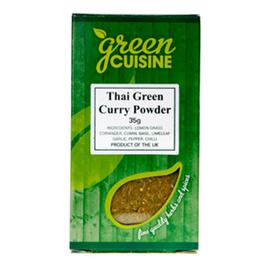 Green Cuisine Green Cuisine Curry Thai Green 35g