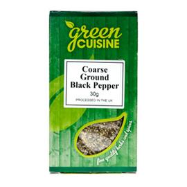 Green Cuisine Green Cuisine Black Pepper Coarse 30g
