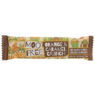 Moo Free Moo Free Orange & Caramel Crunch Chocolate Bar 35g