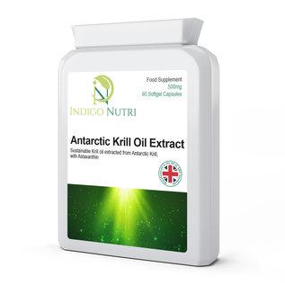 Indigo Nutri Indigo Nutri Antarctic Krill Oil Extract 500mg 60 Softgels