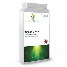 Indigo Nutri Indigo Nutri Cherry-C Plus Vitamin C Wholefood Complex 120 Capsules