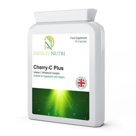 Indigo Nutri Indigo Nutri Cherry-C Plus Vitamin C Wholefood Complex 60 Capsules