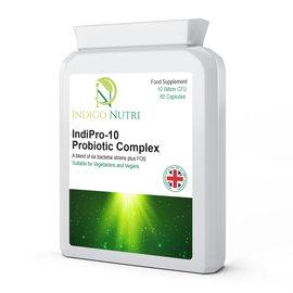 Indigo Nutri Indigo Nutri IndiPro-10 Probiotic Complex 60 Capsules