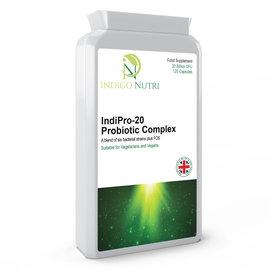 Indigo Nutri Indigo Nutri IndiPro-20 Probiotic Complex 120 Capsules