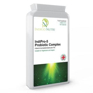 Indigo Nutri Indigo Nutri IndiPro-5 Probiotic Complex 120 Capsules