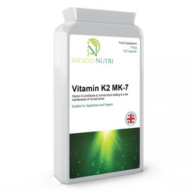 Indigo Nutri Indigo Nutri Vitamin K2 MK-7 100mcg 120 Capsules