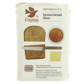 Doves Farm Freee Doves Farm Freee Gluten Free Brown Bread Flour 1kg