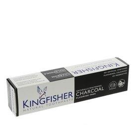 Kingfisher Kingfisher Fluoride Free Charcoal Naturally Whitening Toothpaste 100ml