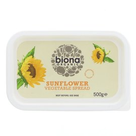 Biona Biona Organic Sunflower Vegetable Spread 500g