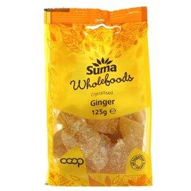 Suma Wholefoods Suma Wholefoods Ginger Crystallized 125g