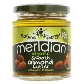 Meridian Meridian Organic Smooth Salted Almond Butter 170g