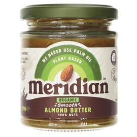 Meridian Meridian Organic Smooth Almond Butter 170g