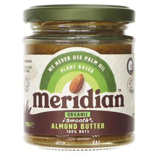 Meridian Meridian Organic Smooth Almond Butter 170g