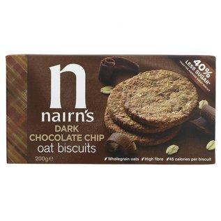 Nairns Nairns Dark Chocolate Chip Oat Biscuits 200g