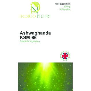 Indigo Nutri Indigo Nutri Ashwaghanda KSM-66 500mg 90 Capsules