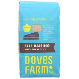 Doves Farm Doves Farm Organic Self Raising Wholemeal Flour 1kg